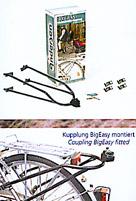 """Big Easy Kupplung für das Fahrrad mit Schloß """"Bike & Easy"""""""