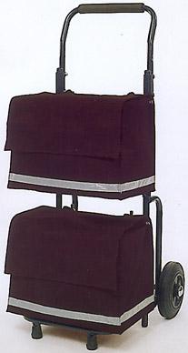 Andersen Zeitungsroller mit zwei Taschen bis 150kg Transportroller