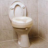 Toilettensitzerhöhung für 10cm Erhöhung ohne Deckel