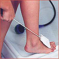 Fuß- und Zehenwascher
