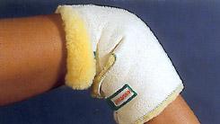 Knieschoner aus med. Schaffell, 1 Stück
