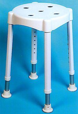 Duschhocker höhenverstellbar von 47cm-64cm bis 120kg belastbar