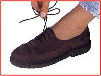 Elastischer Schnürsenkel (braun)