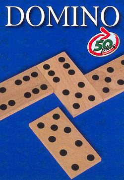 Domino mit großen Steinen