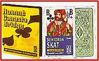 Spielkarten mit großen Zeichen (Romme)
