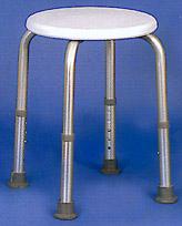 Duschhocker Badezimmerhocker höhenverstellbar von 44cm bis 53cm