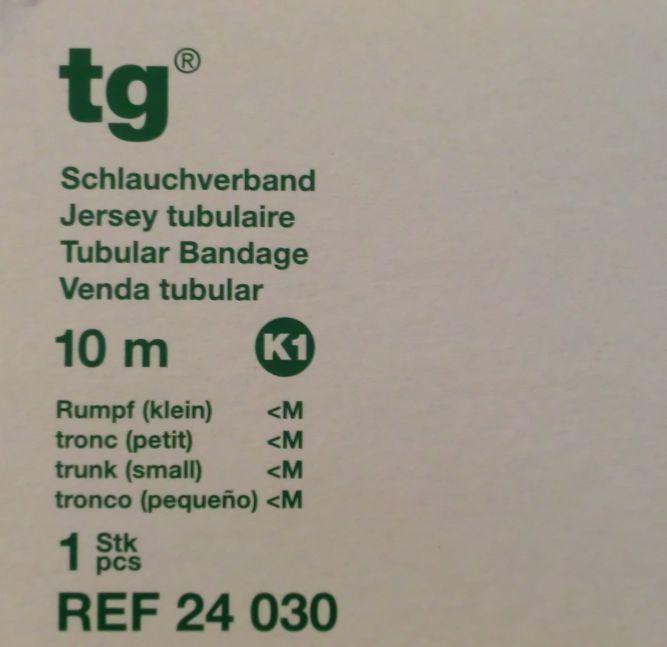 TG Schlauchverband weiß 10m Gr.K1 24030, PZN 1020163